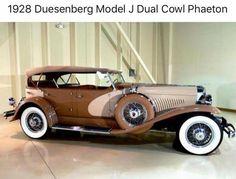 1928 Duesenberg Model J Dual Cowl Phaeton Retro Cars, Vintage Cars, Vintage Items, Duesenberg Car, Grand Prix, Classy Cars, Unique Cars, Sweet Cars, Collector Cars