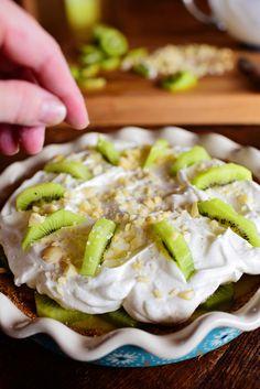 Kiwi Lime Pie by Ree Drmmond, The Pioneer Woman