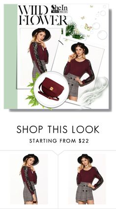 """""""Shein x"""" by xpinkplaymatex ❤ liked on Polyvore featuring The Code"""