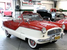 1960 Nash Metropolitan..Re-pin brought to you by #CarInsuranceagents at #HouseofInsurance in #EugeneOregon