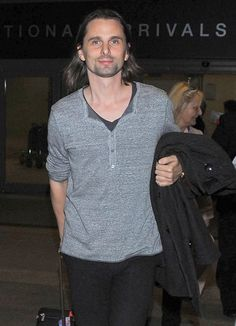 MUSE : Matt Bellamy_16 December 2014 - LAX airport, Los Angeles