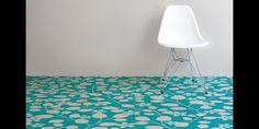 turquoise-blossom-vinyl-flooring