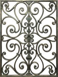 Square And Rectangle Shaped Faux Iron Designs For Your Ceiling