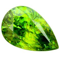 Natural Sphene portuguese pear 9.13cts. More @ www.multicolour.com and #gemstones