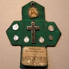 Postmark: Vintages of Los Gatos: Rosaries, Prayer Books & Religious Medals Prayer Corner, Prayer Box, Prayer Cards, Catholic Crafts, Catholic Prayers, Catholic Art, Religious Images, Religious Gifts, Religious Art