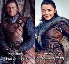 Arya Stark. Daughter of the North. ASOIAF. GOT