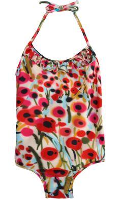 Milly Minis Poppy Tank Suit