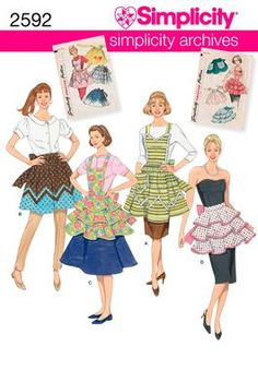 I love aprons - I have some very old ones that I use! I will make some like my Grandmother used to have!