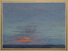 John Ruskin - Study of Dawn