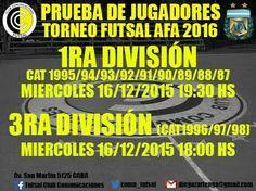 PRUEBA - Futsal AFA 2016