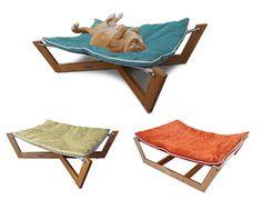 bamboo hammock  u2013 the ultimate cat hangout 10 pet hammock ideas   dog hammock hammock bed and diy dog bed  rh   pinterest