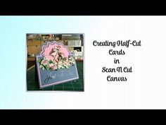 ScanNCut Canvas Sidestepper Card - YouTube