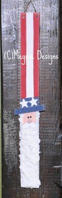Learn how to hand paint and uncle sam patriotic home decor piece. Fourth of July Decor. Patriotic Crafts, July Crafts, Patriotic Decorations, Holiday Crafts, Americana Crafts, Craft Stick Crafts, Crafts To Make, Wood Crafts, Crafts For Kids