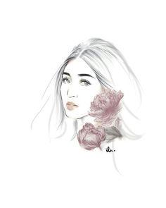 Nadine Lustre, Jadine, Art Inspo, My Idol, Watercolor Art, Fangirl, Pumpkin, Wallpapers, Random