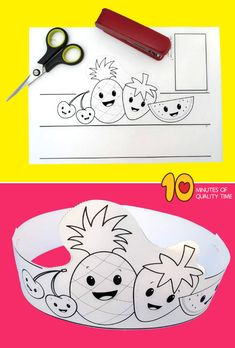 Fruit Paper Crown : fruit crafts for pre k Christmas Activities For Toddlers, Toddler Activities, Crafts For Kids, Christmas Baby, Christmas Crafts, Crown Printable, Fruit Crafts, Gripe Water, Crown For Kids
