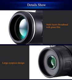 Universal 10x40 Hiking Concert Camera Lens Zoom Telescope+Phone Holder For Smartphone Sale - Banggood.com