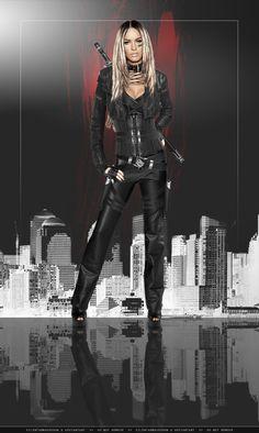 Dark Assassin: Megan by SilentArmageddon on deviantART