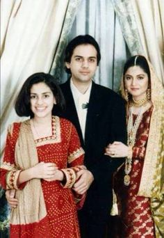 Nazia,zohaib and zahra hassan