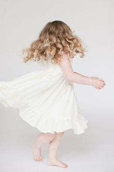 Flower Girl dress white flower girl dress Ivory by ShelbyJaneandCo