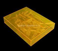 Custom printing acrylic book case, custom perpsex book case Custom Printing, Silk Screen Printing, Acrylic Box, Laser Engraving, Bookcase, Prints, Screen Printing Press, Screen Printing, Book Shelves