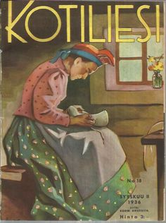 Martta Wendelin was a Finnish artist whose work was widely used to illustrate fairy tales and books, postcards, school books, magazine and book covers. Newspaper Cover, Magazine Art, Magazine Covers, Scandinavian Art, Vintage Christmas Cards, Book Journal, Old Commercials, Vintage Posters, Cover Art