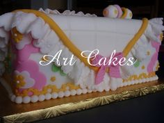 Baby Shower Cake in Pink
