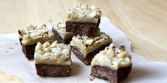 This fructose-free Nut Slice comes from our #followfriday friend - Lilian Dikmans.