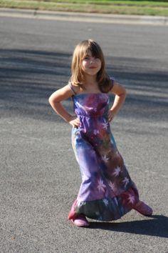 Sunprinted Dress