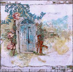 Beautiful, Textured Door - Patricia Basson