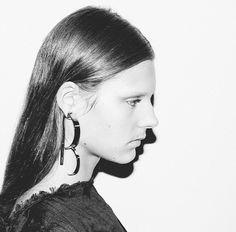 Ear art at Loewe SS15