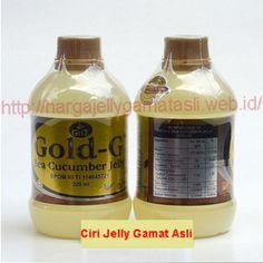 Ciri-Ciri Jelly Gamat Gold G Asli HARUS ANDA KETAHUI, HANYA DIJUAL DI AGEN RESMI DENGAN HARGA Rp 175.000, Keamanan Terjamin, 100% ORIGINAL, DISINI BISA KIRIM BARANG DULU dan TRANSFER SETELAH OBAT DITERIMA (untuk pembelian 1-2 botol ke daerah Jawa tertentu)  Untuk Membeli Jelly Gamat Gold-G ASLI, Anda Bisa Mengirim SMS dengan Menggunakan Format: BSG : Jumlah Pesanan : Nama  : Alamat Lengkap: No.HP/Tlp kirim ke 081.220.617.666