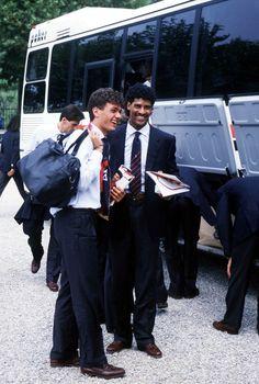 Paolo Maldini et Frank Rijkaard (AC Milan)