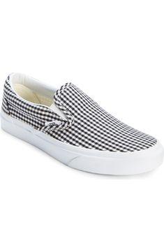 Vans  gingham slip on sneakers. (Sold out on nordstrom.com)  dd667b357