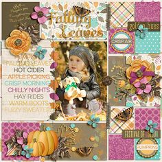 My Life Project: May Pocket Style Digital Scrapbook Templates