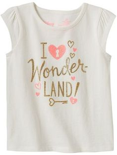 Disney Disney's Alice in Wonderland Toddler Girl Glitter Tee by Jumping Beans®