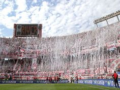 Estadio Monumental Antonio Vespucio Liberti, home to River Plate & the Argentine national football team, Argentina National Football Teams, Football Stadiums, Argentina Fc, Messi, Soccer Fans, Soccer Stuff, Fifa World Cup, Carp, All Over The World