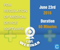 FDA Regulation of Medical Device Software  The Food and Drug Administration (FDA) was not empowered by Congress to regulate medical devices until May 28, 1976 when the Medical Device Amendments were added to the Federal Food, Drug, and Cosmetic Act (FDCA).   http://www.compliance4all.com/control/w_product/~product_id=500865LIVE