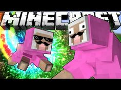 If Pink Sheep Had a Baby - Minecraft - YouTube