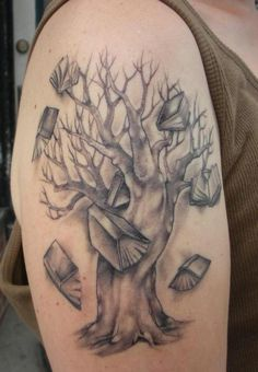 Tree of Wisdom Tattoo - 30 Family Tree Tattoos <3 <3