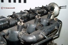 Rocker arms, covers, springs, etc.