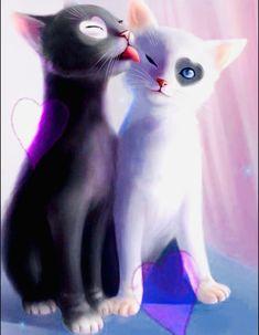 Speed Paint, Dog Cat, Cute Animals, Clip Art, Pusheen, Manga, Dogs, Anime, Cupcakes