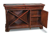 Open Evolution Credenza - Legacy Classic Furniture Furniture Mall Of Kansas, Rustic Dining Room Sets, Round Dining Set, Drop Leaf Table, Marble Top, Adjustable Shelving, Credenza, Side Chairs, Hardwood