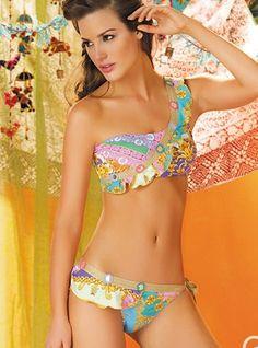 017bfb3361008d Designer Swimwear 360 - Paradizia Swimwear Rhapsodia Bandeau Two Piece  Swimsuit