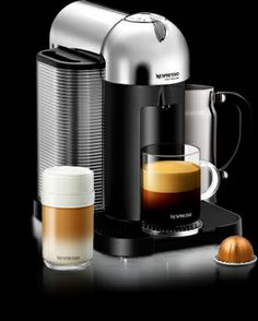 Nespresso VertuoLine Coffee Machine... The best coffee ever, I love the blue capsule. I would Love to get this for Rich......