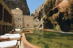 La piscine de l'hôtel Evason Ma'In Hot Springs en Jordanie