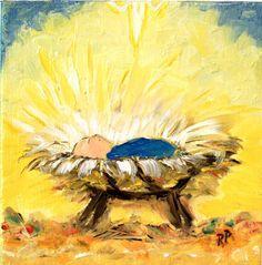 Away in a manger.