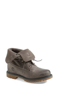 Timberland Waterproof Leather Boot (Women) available at  Nordstrom Grey Timberland  Boots b6cac5e5ca9