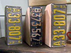 Trash To Treasure Decorating | Trash to Treasure: Old License Plates : Archive : Home & Garden ...