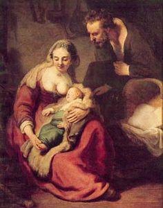 Rembrandt, 1606-1669  Die Heilige Familie, 1631, München, Alte Pinakothek
