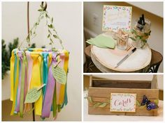 Add soft DIY floral touches to your baby shower.